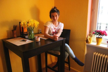 Hausbesuch bei Bianca Preché