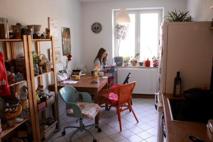Hausbesuch bei Miriam Green