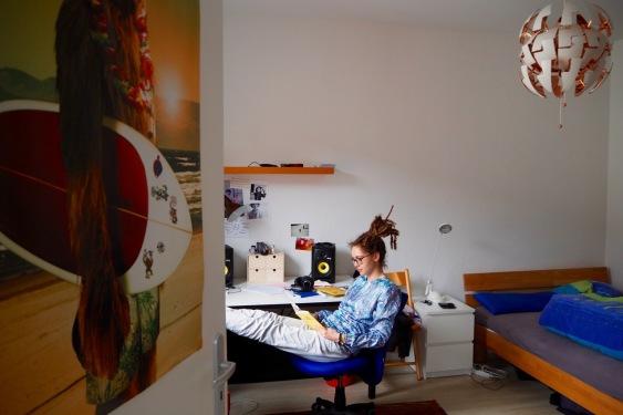 Hausbesuch bei Marie Diot